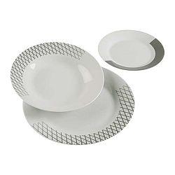 18dílný set talířů z porcelánu VERSA Diamond