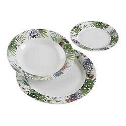 18dílný set talířů z porcelánu VERSA Tropical