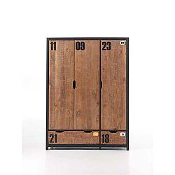 3dveřová šatní skříň Vipack Alex