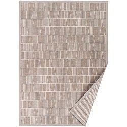 Béžový vzorovaný oboustranný koberec Narma Kursi, 70 x 140cm