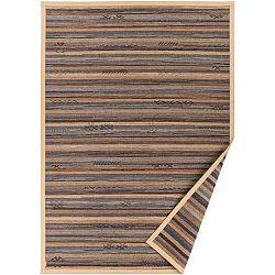 Béžový vzorovaný oboustranný koberec Narma Liiva, 140 x 200cm