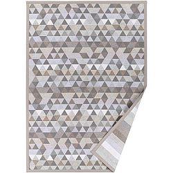 Béžový vzorovaný oboustranný koberec Narma Luke, 70 x 140cm