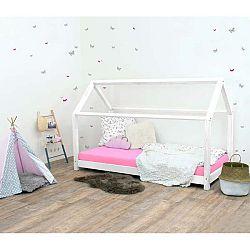 Bílá dětská postel bez bočnic ze smrkového dřeva Benlemi Tery, 120 x 180 cm