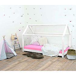 Bílá dětská postel bez bočnic ze smrkového dřeva Benlemi Tery, 120 x 200 cm