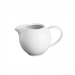 Bílá porcelánová konvička namléko Price&Kensington Simplicity