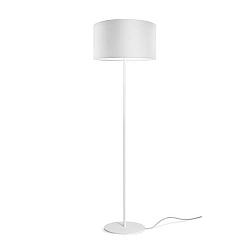 Bílá stojací lampa Sotto Luce Mika, ⌀40 cm
