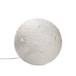 Bílá stolní lampa Mauro Ferretti Paralume, 50cm