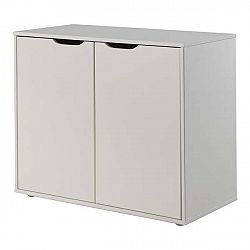 Bílá úložná skříňka Vipack Pino