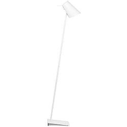 Bílá volně stojící lampa Citylights Cardiff