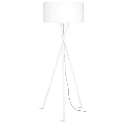 Bílá volně stojící lampa Citylights Hampton