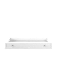 Bílá zásuvka pod postýlku BELLAMY Marylou,60x120cm