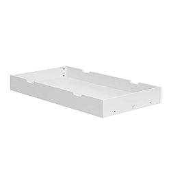 Bílá zásuvka pod postýlku Pinio Marseille, 60x120cm