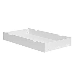 Bílá zásuvka pod postýlku Pinio Marseille, 70x140