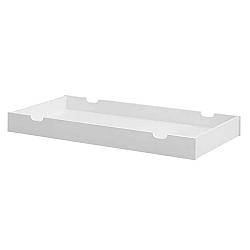 Bílá zásuvka pod postýlku Pinio Moon, 70x140cm