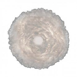 Bílé nástěnné / stropní svítidlo z husího peří VITA Copenhagen EOS, Ø40cm