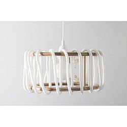 Bílé stropní svítidlo EMKO Macaron, ø 45 cm