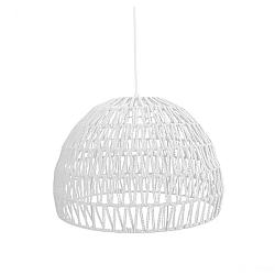 Bílé stropní svítidlo LABEL51 Rope, ⌀50 cm