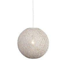Bílé stropní svítidlo LABEL51 Twist, ⌀ 60 cm