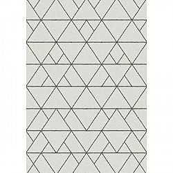 Bílý koberec Universal Nilo, 67 x 250 cm