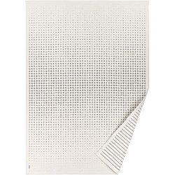 Bílý vzorovaný oboustranný koberec Narma Helme, 70 x 140cm