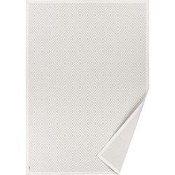 Bílý vzorovaný oboustranný koberec Narma Kalana, 140 x 200cm