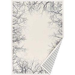 Bílý vzorovaný oboustranný koberec Narma Puise, 70 x 140cm