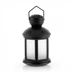 Černá lucerna s LED osvětlením InnovaGoods