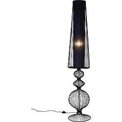 Černá stojací lampa Kare Design Swing