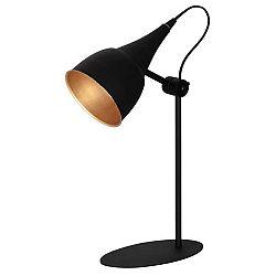 Černá stolní lampa Glimte Sento