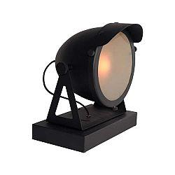 Černá stolní lampa LABEL51 Cap