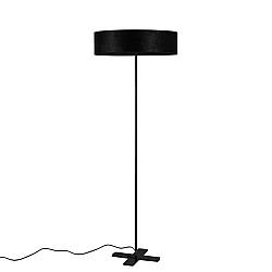 Černá volně stojící lampa Bulb Attack Quince
