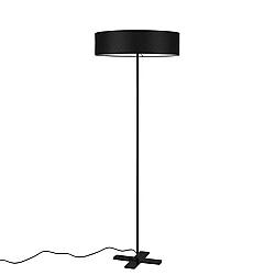 Černá volně stojící lampa Bulb Attack Trece