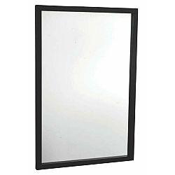 Černé dubové zrcadlo Rowico Lodur