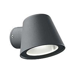 Černé nástěnné venkovní svítidlo Evergreen Lights Wally