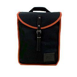 Černý batoh s oranžovým detailem Mödernaked Orange Heap