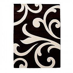 Černý koberec Tomasucci Damasko, 60x110cm
