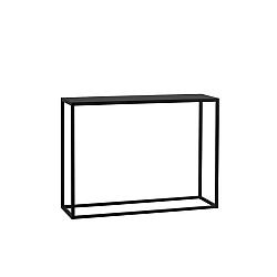 Černý konzolový stolek Custom Form Julita