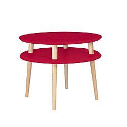Červený konferenční stolek Ragaba Ufo, ⌀57cm