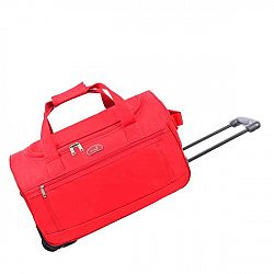 Cestovní taška na kolečkách Voyage Red, 43 l