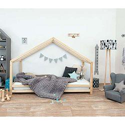 Dětská postel z přírodního smrkového dřeva Benlemi Sidy, 80 x 200 cm