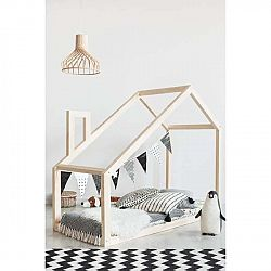 Domečková postel z borovicového dřeva Adeko Mila DM, 80x160cm