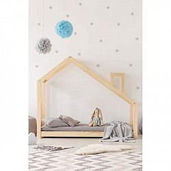 Domečková postel z borovicového dřeva Adeko Mila DMS,80x180cm