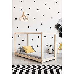 Domečková postel z borovicového dřeva Adeko Mila KM, 70x140cm