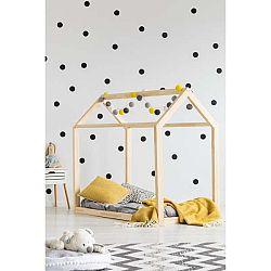 Domečková postel z borovicového dřeva Adeko Mila MN,160x200cm