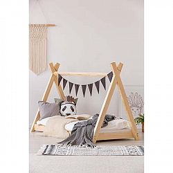 Domečková postel z borovicového dřeva Adeko Mila TP,80x190cm