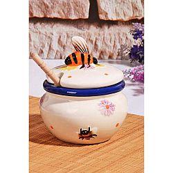 Dóza na med s víčkem Bee