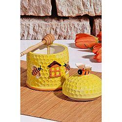 Dóza na med s víčkem Honey