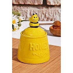 Dóza na med ve tvaru úlu Honey
