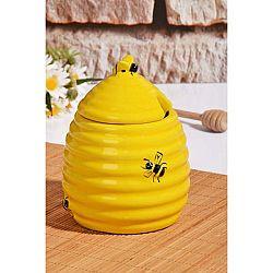 Dóza na med ve tvaru úlu s víčkem Kutahya Honey