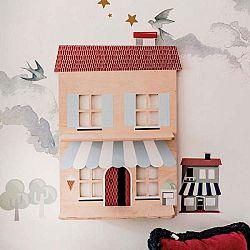 Dřevěná nástěnná dekorace Dekornik Piccola Italia